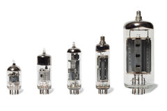 Vacuum tubes Stock Photography