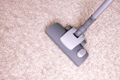 Vacuuming Stock Image