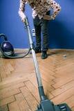 vacuuming Obrazy Royalty Free