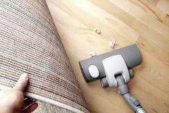 Vacuuming Zdjęcia Stock