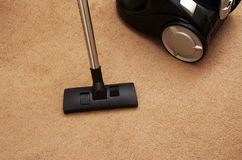 vacuuming photographie stock