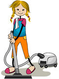 Vacuuming Royalty Free Stock Images