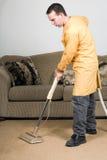 Vacuuming Royalty Free Stock Image