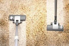 Vacuuming Royalty Free Stock Photography