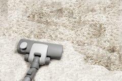 Vacuuming Stock Image