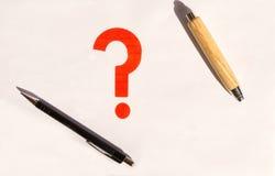 Vad som drar med blyertspennan Fotografering för Bildbyråer
