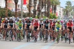 Vada in bicicletta la corsa Immagini Stock Libere da Diritti