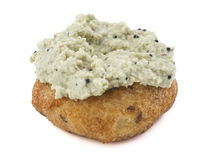 Vada with coconut chutney Royalty Free Stock Photo