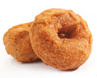 Vada is donut, made with urad dal flour, Royalty Free Stock Photography