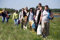 Vada fare un'escursione Fotografia Stock Libera da Diritti