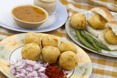 Vada Pav Royalty Free Stock Images