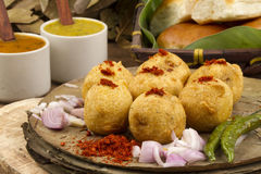 Vada Pav Royalty Free Stock Photos