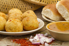 Vada Pav Stock Images