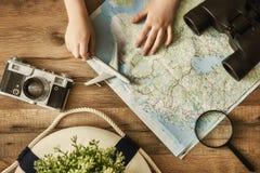 Vada su un'avventura! fotografia stock