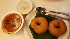 Free Vada With Sambar Royalty Free Stock Photography - 84033087