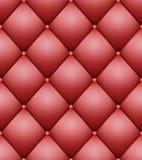 Vadderad modellvektor Tappning knäppas stilfull stoppning för läder vektor illustrationer
