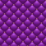 Vadderad purpurfärgad bakgrund royaltyfri illustrationer