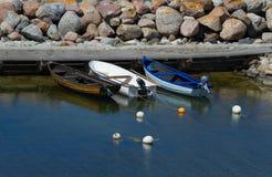 Vadeando o pescador Imagem de Stock