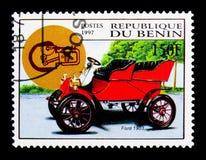 Vadee, 1903 modelos, serie de los coches del vintage, circa 1997 Fotografía de archivo libre de regalías