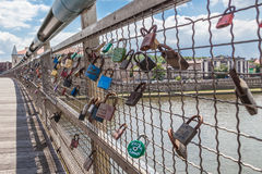 Vader Bernatek Bridge Royalty-vrije Stock Afbeelding