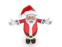 Vader Christmas Santa Claus stock afbeeldingen