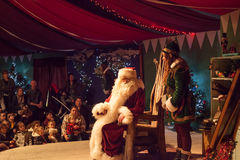 Vader Christmas Santa Claus Royalty-vrije Stock Foto