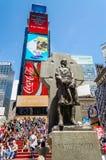 Vader Duffy Monument, Tijden Royalty-vrije Stock Foto