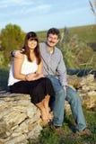 Vader en dochter Royalty-vrije Stock Foto