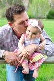 Vader en dochter Stock Fotografie
