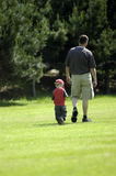 Vader en zoon stock afbeeldingen