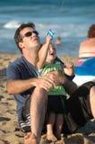 Vader en Zoon Royalty-vrije Stock Fotografie