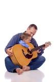 Vader en zoon Stock Fotografie