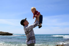 Vader met dochter royalty-vrije stock fotografie