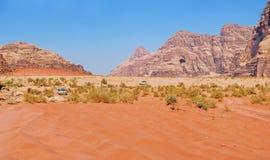 Vadi Ram - Jordan. Panorama Stock Image
