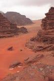 Vadi Rum desert. Royalty Free Stock Photography