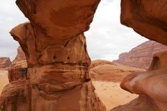 Vadi Rum desert. Stock Photos