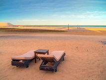 Vadio da praia Fotografia de Stock Royalty Free