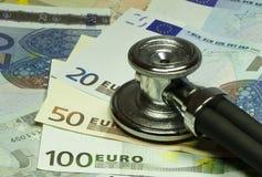 Vadis di Quo, euro? Fotografie Stock
