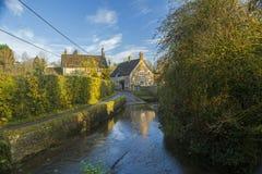 Vado del pueblo de Lacock Fotografía de archivo libre de regalías