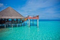Vadoo di prestigio di adaaran delle Maldive Fotografia Stock