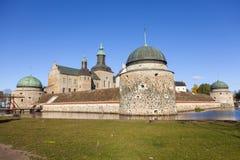 Vadstena-Schloss stockbilder