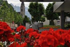 Vaduz — the capital of the Principality of Liechtenstein royalty free stock image
