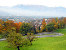 Vaduz Royalty Free Stock Image