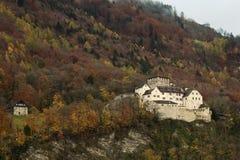 Vaduz Castle in Liechtenstein. In autumn Stock Images