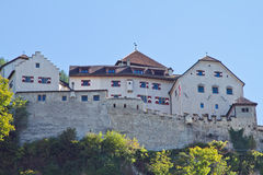 Vaduz castle royalty free stock photo