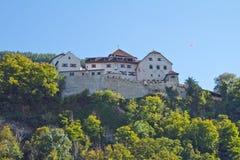 Vaduz castle. In Liechtenstein Beautiful Stock Images