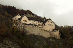Vaduz Castle in Liechtenstein Royalty Free Stock Images