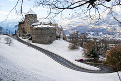 Vaduz Castle Royalty Free Stock Images