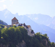 Vaduz Castle. Liechtenstein Royalty Free Stock Image