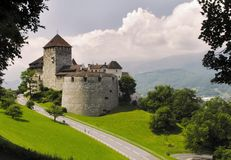 Vaduz castle Stock Photos